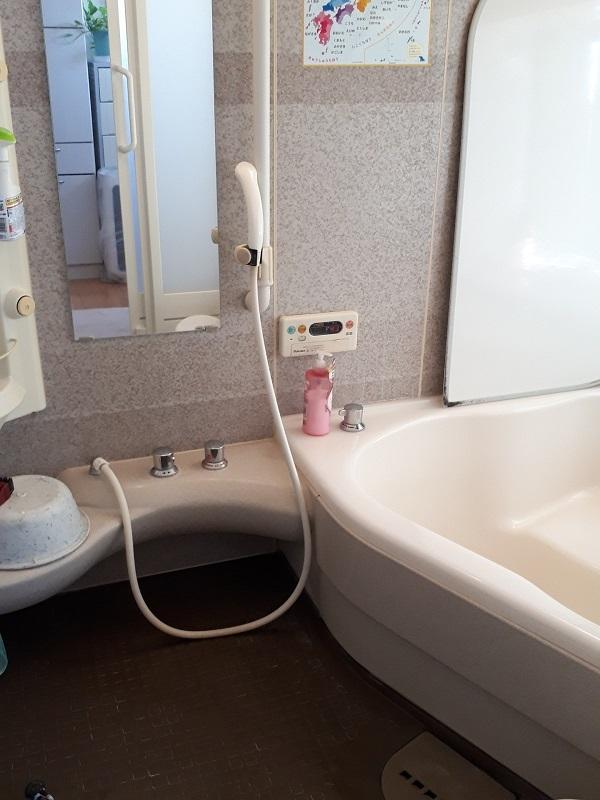 大阪府泉佐野市で風呂排水つまりの事例