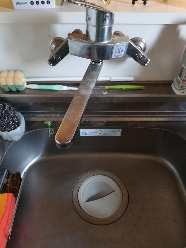大阪府和泉市にて台所排水のつまりを解消いたしました。
