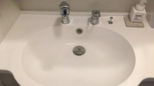 洗面の下から水漏れ