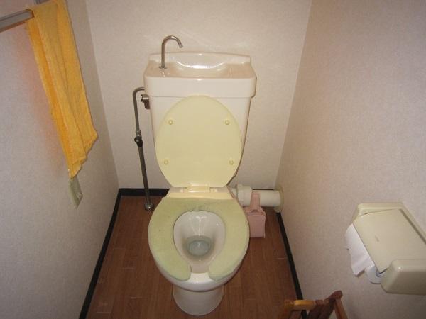 大阪府大阪市東住吉区にてトイレつまり事例