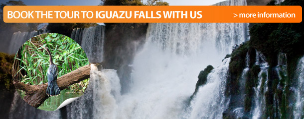 Book the tour to Iguazu Falls with us