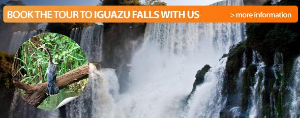 Book the tour to Iguazu Falls with us