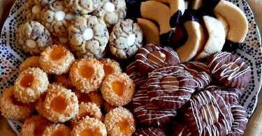 حلويات مغربية تقليدية بنفس العجين