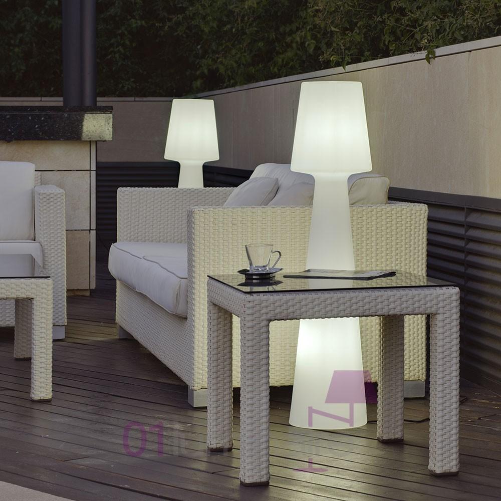Lampadaire extrieur Casa light MMLed sans fil tlcommande