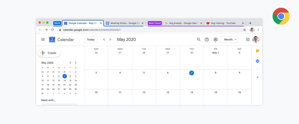 Come organizzare i tab in gruppi con Google Chrome