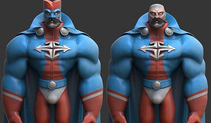Novi animirani superheroj - Srboljub