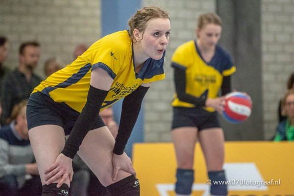 13-04-2019: Volleybal: Vrouwen WIK Groot Ammers v Havoc: Groot Ammers