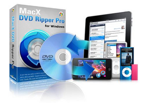 MacX DVD Ripper Pro for Windows 7.5.4.149
