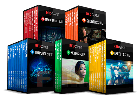 Red Giant Complete Suite 2016 for Adobe CS5 - CC 2017 (12.2016) (Win/Mac)