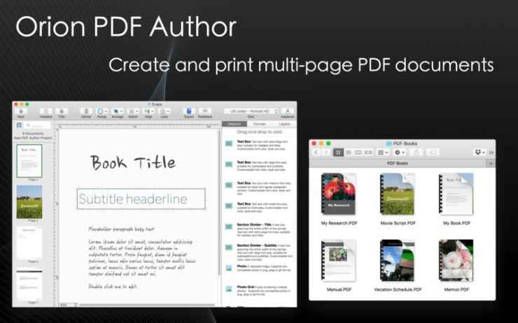 Orion PDF Author 2.96