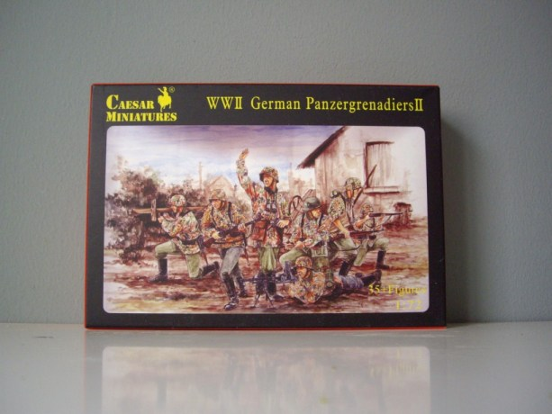 CAESAR H052- H053 German Infantry – German Panzergrenadier SET I – II [UPDATED]