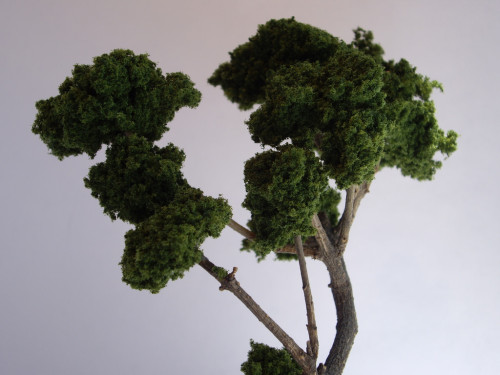 How to make trees  172 Depot Miniatures  Plastic