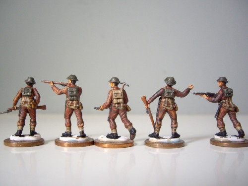 Italeri British Infantry Ended back