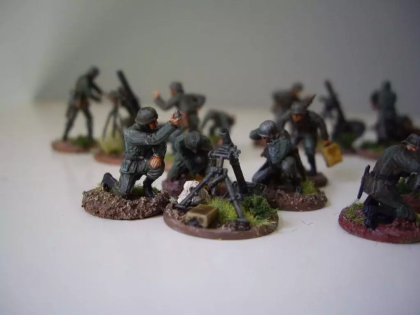 Pegasus 7204 German Mortar Teams (Granatwerfer)