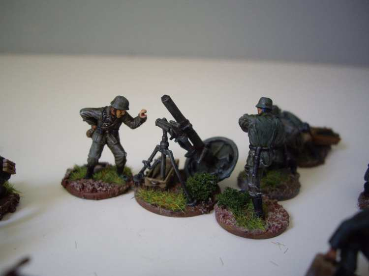 Pegasus German Mortar Teams
