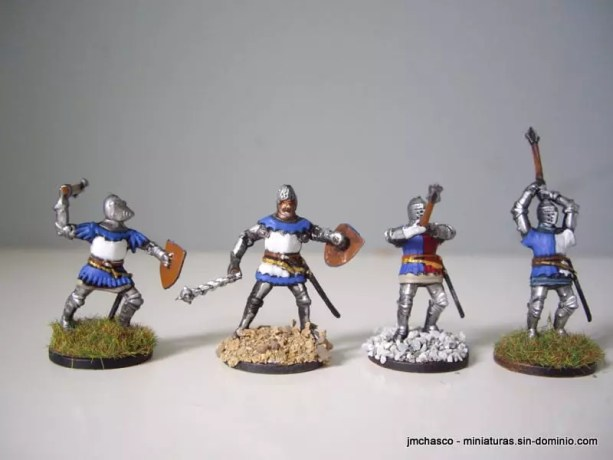 Accurate 7207 Hundred Years War Knights Of France