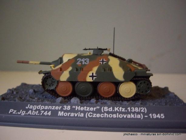 "nº16 – Jagdpanzer 38 ""Hetzer"" (Sd.Kfz.138/2)"