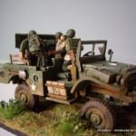 Italeri M6 Anti Tank Vehicle-IMGP3613