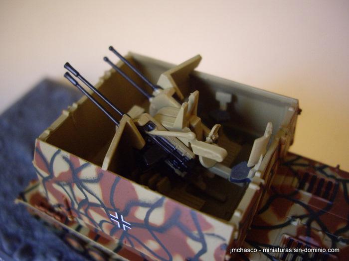 Turret detail