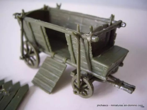 1/72 Orion 72039 Hussite War Wagon And Command