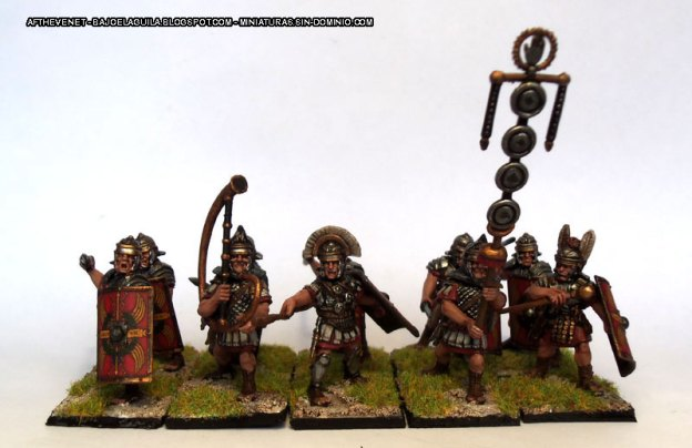 28mm – Warlord Games – Plastic Imperial Roman Legionaries