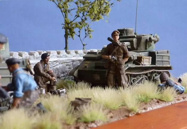 Airfix Vickers light tank BEF 1940 France 1/76.