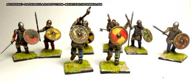 Wargames Factory Viking Huscarls