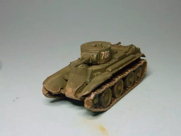 Pegasus Russian BT-7 light tank PG7673 1/72.