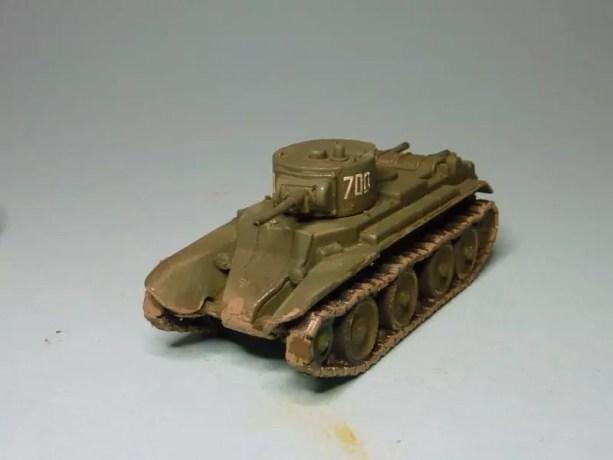 Pegasus Russian BT-7 light tank PG7673 1/72.