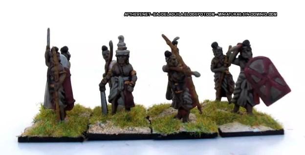 Coates & Shine  Set 8154  Indian Infantry IV BC