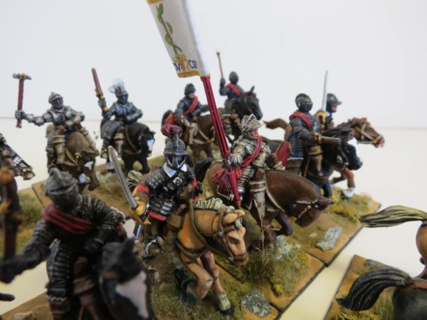 28mm – Warlord Games – (Imperial) Cuirassiers.