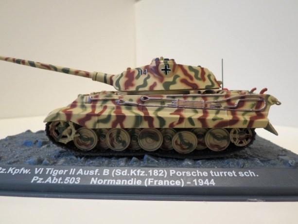 nº14 – Altaya Panzer – Pz.Kpfw. VI Tiger II Ausf. B (Sd.Kfz. 182) Porsche Turret