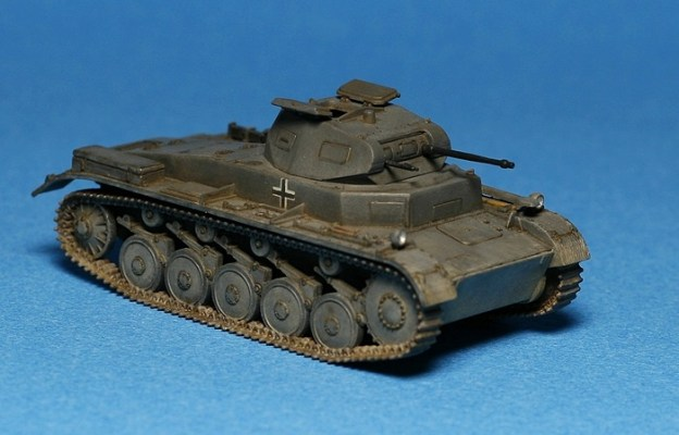 Pz.Kpfw. II Ausf. C – S Model, finished