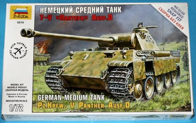 Zvezda 1/72 Panther Ausf D