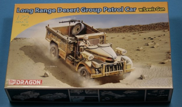 Dragon – 7439 –  Long Range Desert Group Patrol Car w/Lewis Gun