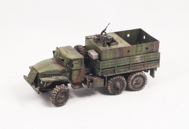 1/72 – ICM – 72711 – Ural 375D Cargo Truck (Up Amoured)