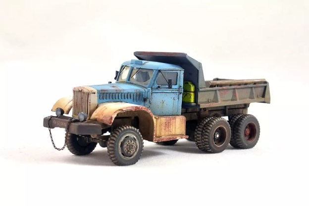 1/72 IBG – 72019 – Diamond T 972 Dump Truck