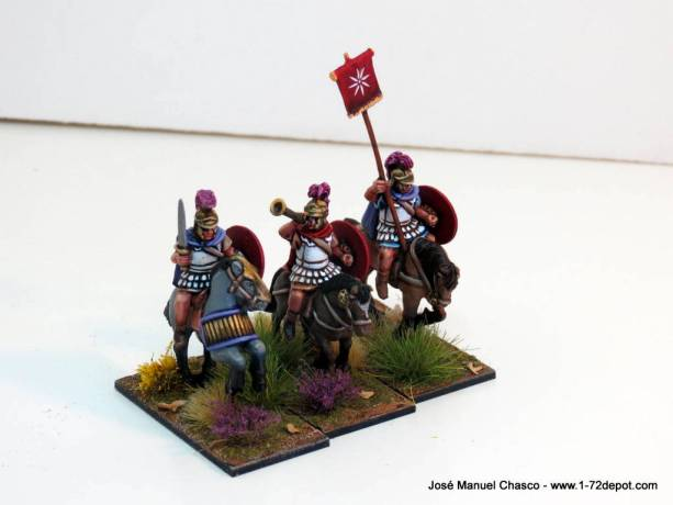 28mm – Gripping Beast – Antigonid Companion Command (Polemarch Successors)