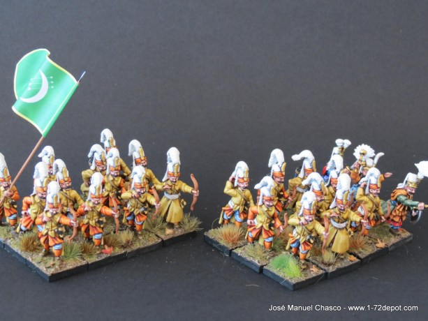 28mm The Assault Group – Janissaries with Bow.