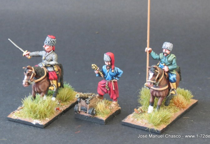 28mm The Assault Group – Cossack Comand