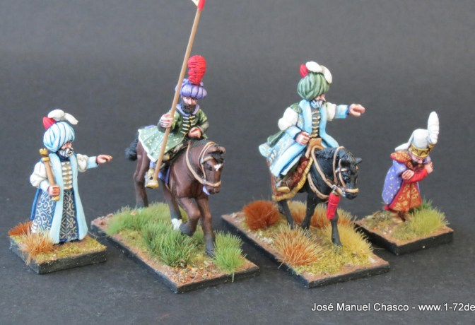 28mm The Assault Group – Ottoman High Officers