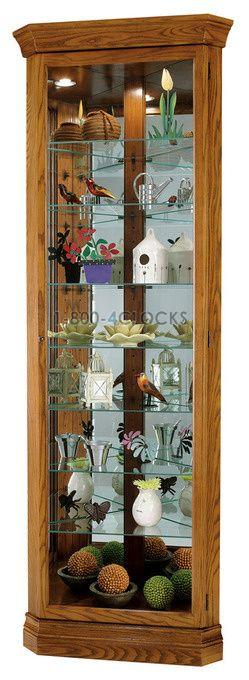 Howard Miller Dominic Corner Curio Cabinet at 1800