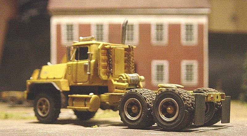 Mack Rd800 Truck Tractor Amp Lowboy Trailer