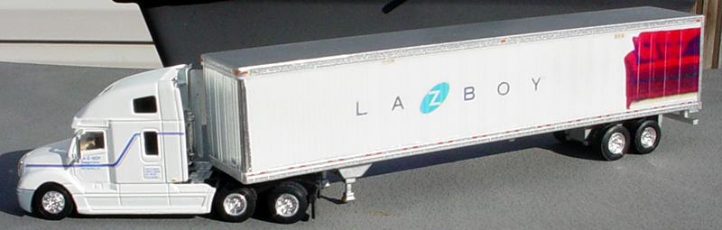 friends sofa replica friheten bed sheet size la-z-boy freightliner columbia truck tractor & 53' van trailer
