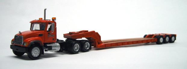 Mack Granite Truck Tractor Amp Tri Axle Lowboy