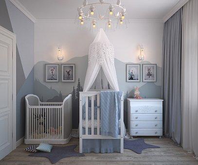 rideau pour la chambre enfant