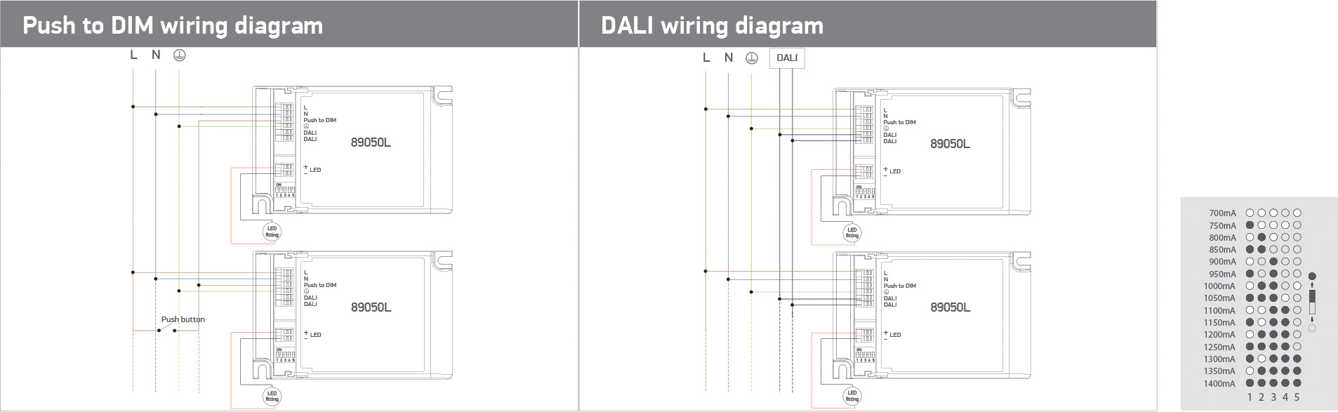 hight resolution of 23 led drivers the dali universal dimmable range 89050l wiring diagram assets materials files diagrams 89050l wiring jpg