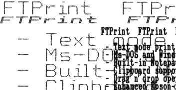 10-Strike FTPrint Screenshots