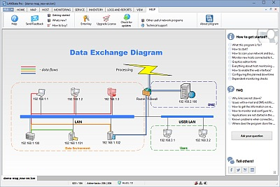Network Diagram Builder How To Build Network Diagram Automatically