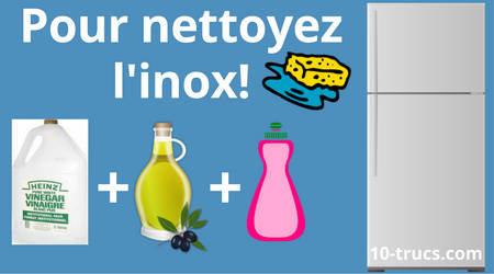 comment nettoyer l inox noirci